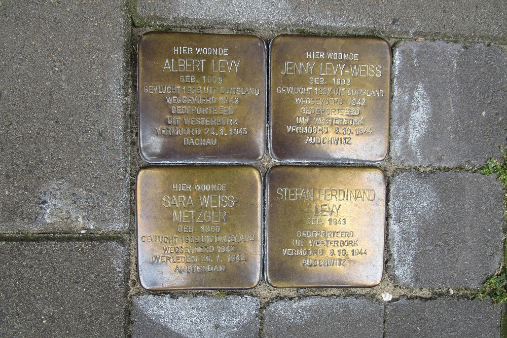 Remembrance Stones Burcht 2