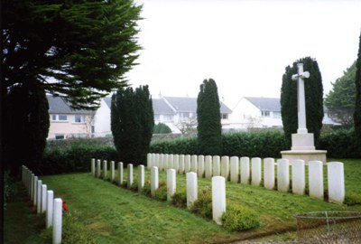 Commonwealth War Graves Penzance Cemetery