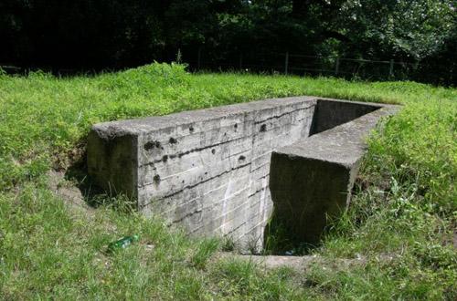 Festung Breslau - Luftschutz Deckungsgraben