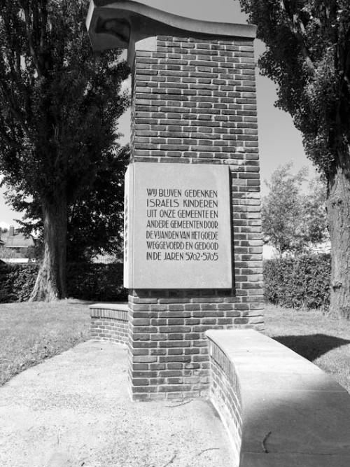 Monument Joodse Begraafplaats Westzaan