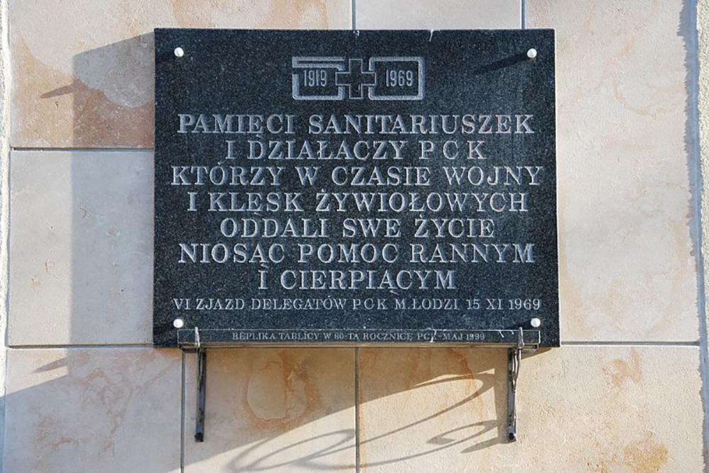 Plaquette Poolse Rode Kruis 1919-1969