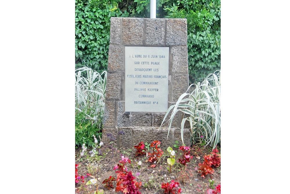Monument voor Captain Kieffer en zijn Commando's