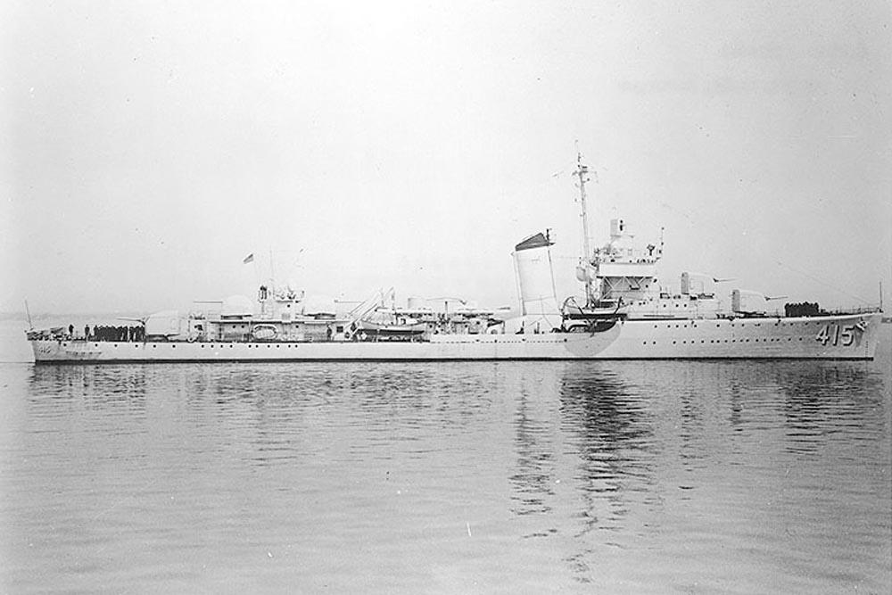 Shipwreck U.S.S. O'Brien (DD-415)