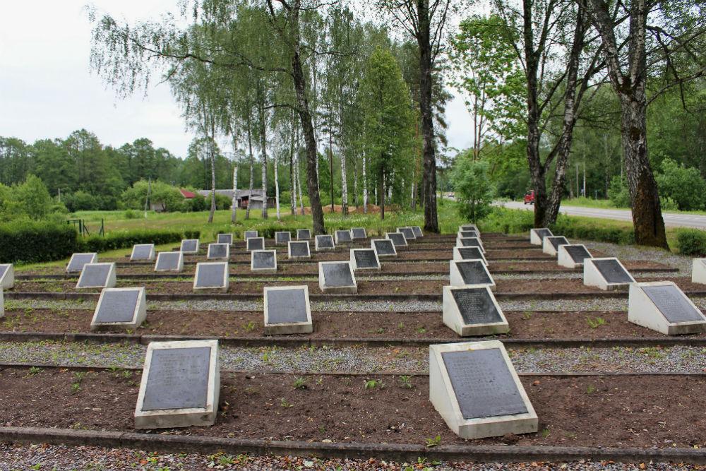 Sovjet Oorlogsbegraafplaats Baldone