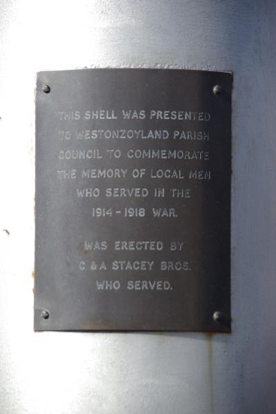 War Memorial Westonzoyland