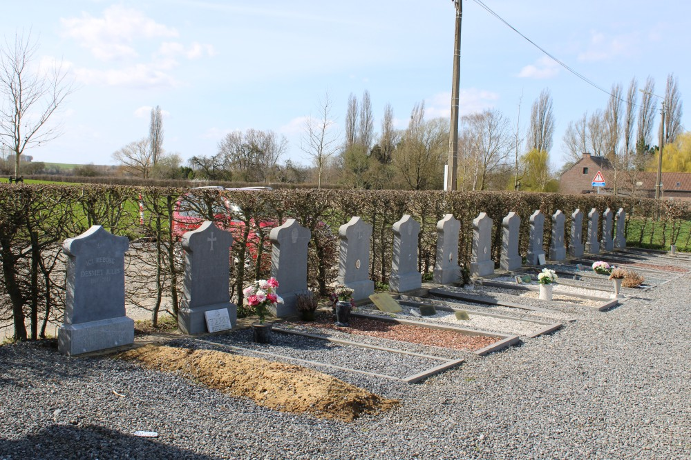 Ereperk Graven Oudstrijders Huppaye