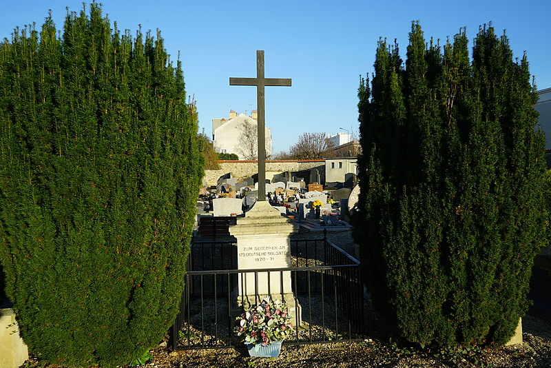 Graves of Germans Soldiers Reims