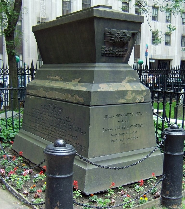 Grave of Captain James Lawrence