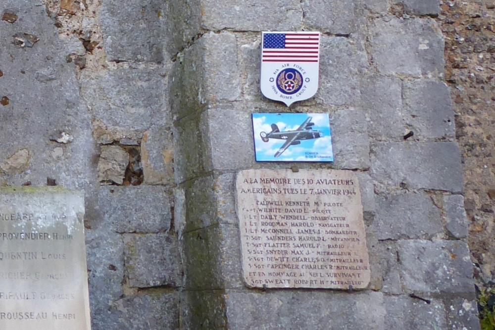 Monument Crash 7 Januari 1944