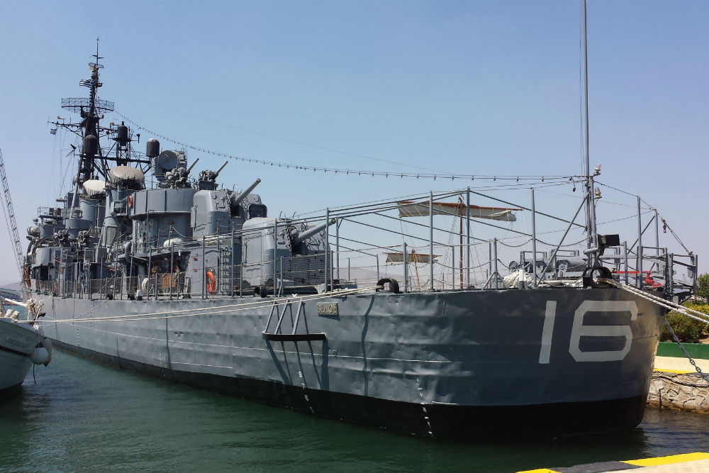 Former Destroyer U.S.S. Charette