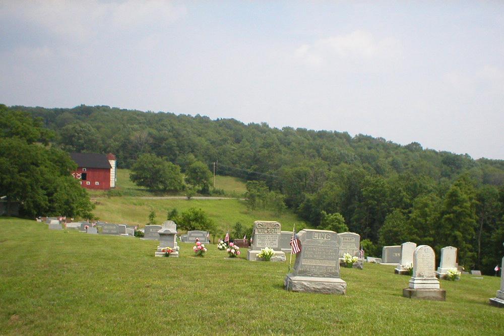 Amerikaanse Oorlogsgraven Trinity United Church of Christ Cemetery