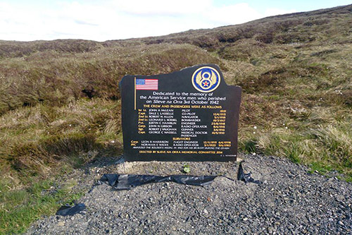 Monument Crash B17 Flying Fortress Slieveanorra