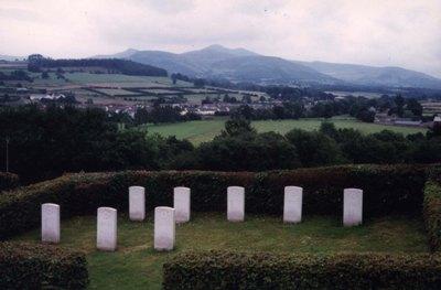 Oorlogsgraven van het Gemenebest Brecon Cemetery