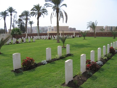 African and Indian War Cemetery Suez