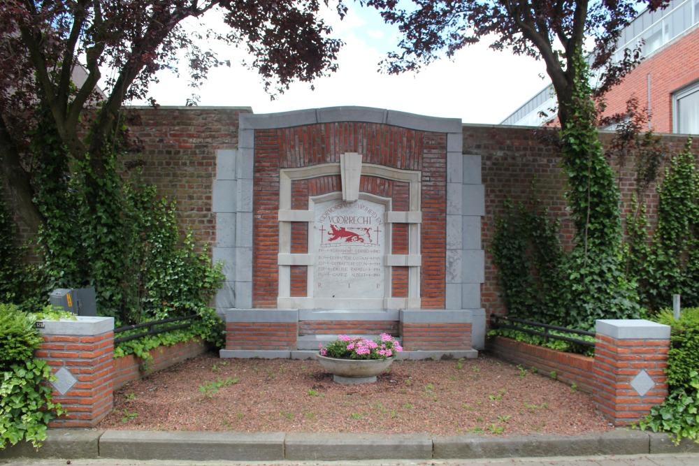 War Memorial Knokke Zwevegem