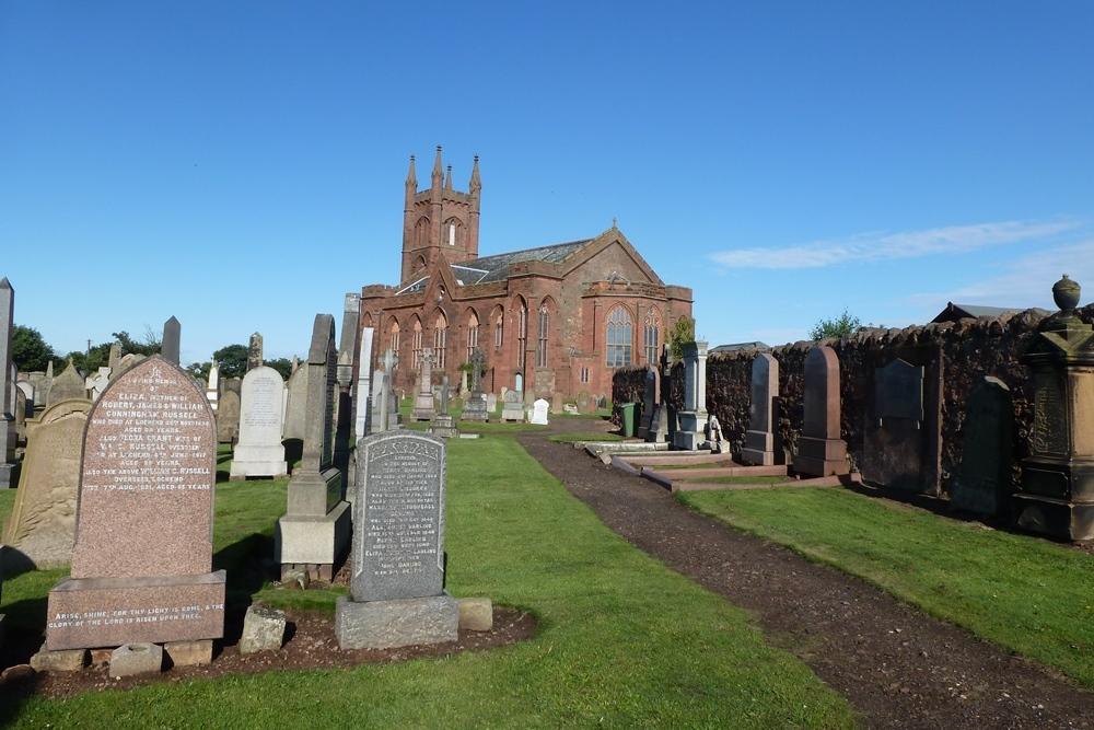 Oorlogsgraven van het Gemenebest Dunbar Cemetery