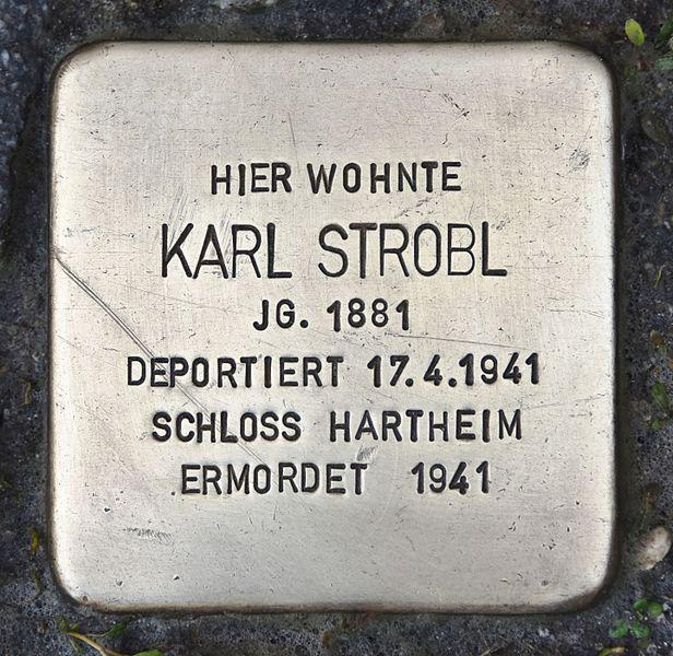 Stumbling Stone Wichtlhuberstraße 9