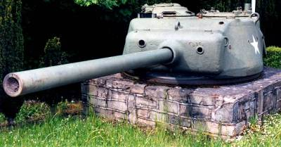 Sherman Turret direction Neufchâteau