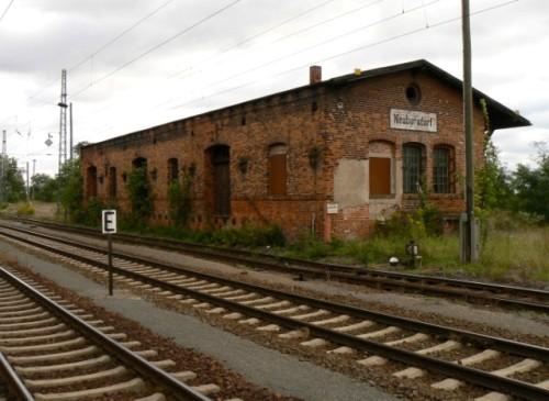 Railway Station Neuburxdorf