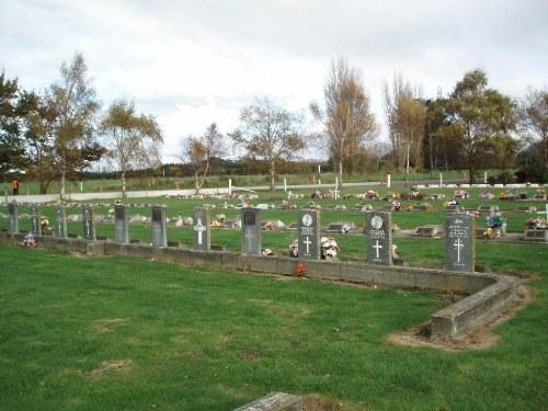 Oorlogsgraven van het Gemenebest Kaiapoi Cemetery