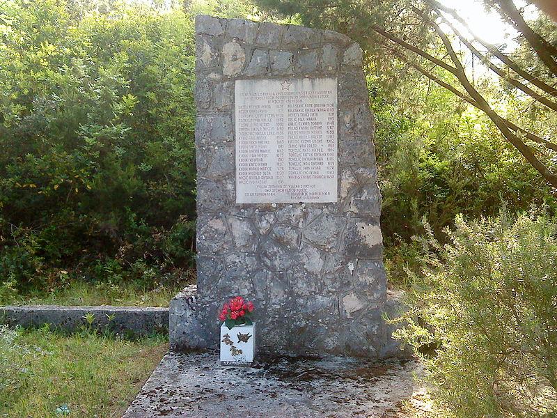Monument Executie 23 November 1943