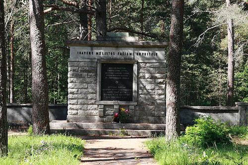 Begraafplaats Slachtoffers Nationaal-Socialisme Keila Vald
