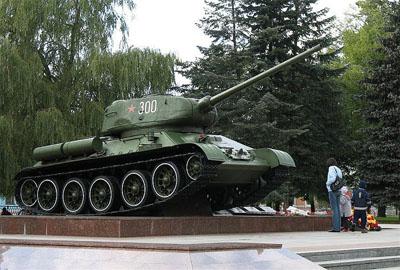 Bevrijdingsmonument (T-34/85 Tank) Bobruisk