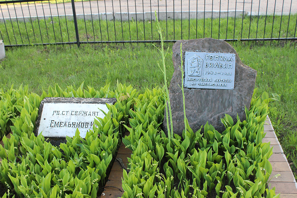 Czechoslovakian War Grave Talka