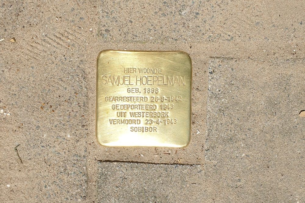Stumbling Stone Valckenierstraat 35