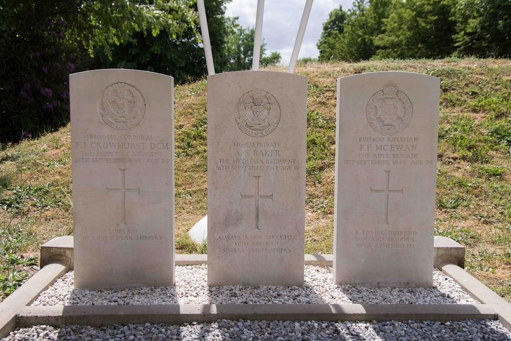 Commonwealth War Graves Municipal Cemetery Mol