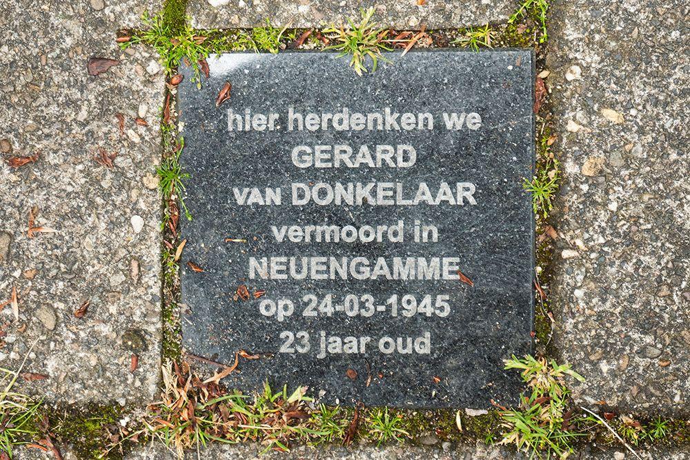 Remembrance Stone Blekerstraat 30 (now De Vlijtstraat 11)