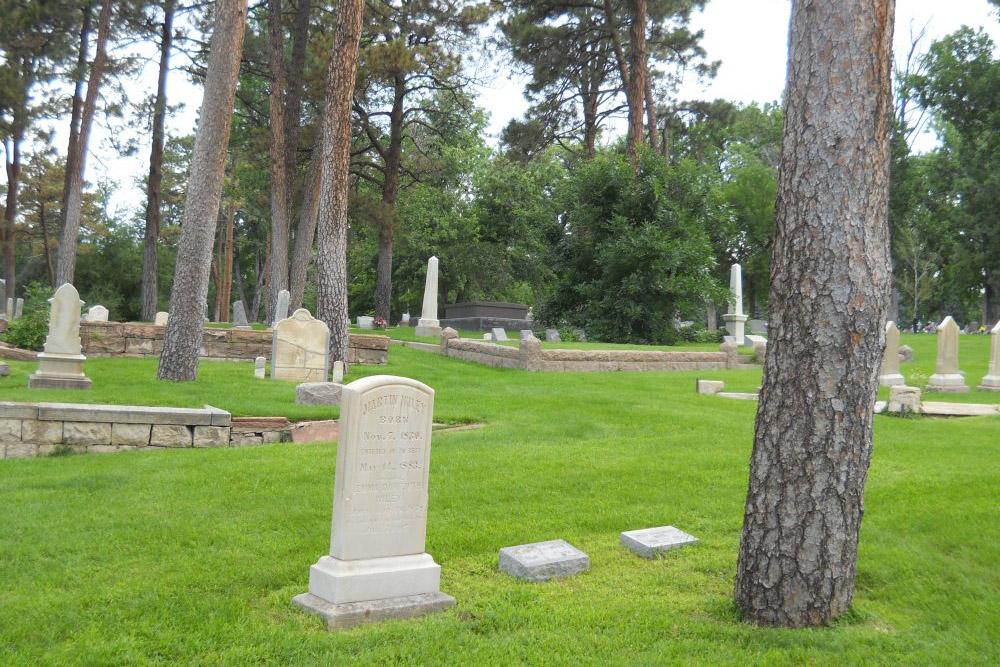 American War Graves Evergreen Cemetery