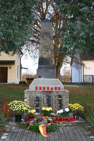 Oorlogsmonument Deutsch Tschantschendorf