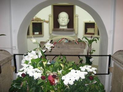 Memorial Tomb Benito Mussolini