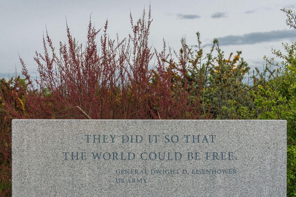 Monument Quote Eisenhouwer