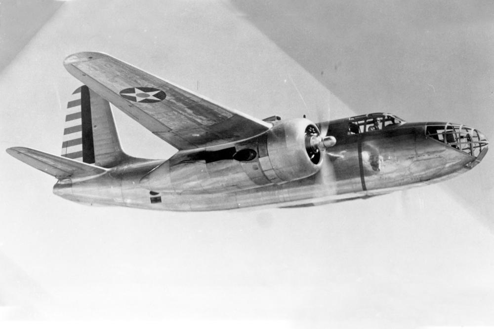 Crash Site A-20A