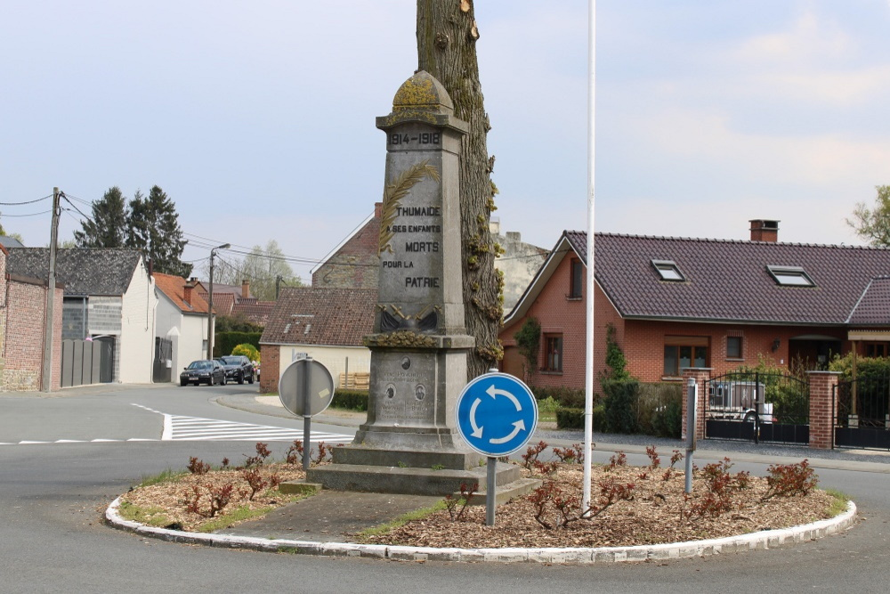 War Memorial Thumaide
