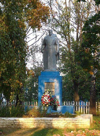 Mass Grave Soviet Soldiers Khmelivka
