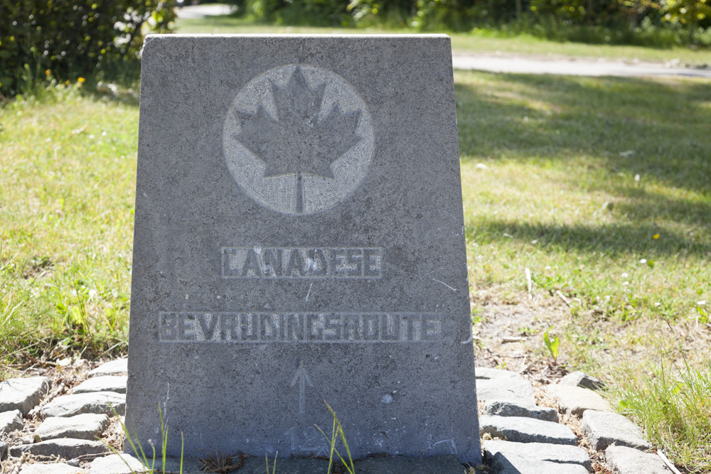 Marker No. 12 Canadian Liberation Route