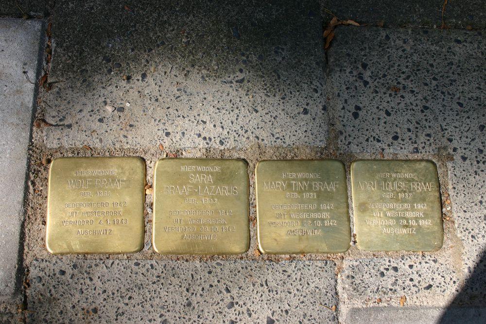 Stolpersteine H.W. Mesdagstraat 7