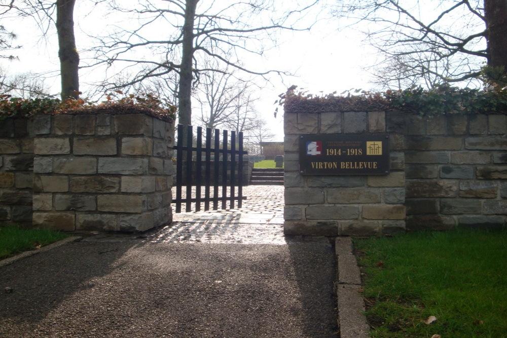 Frans-Duitse Oorlogsbegraafplaats Virton Bellevue