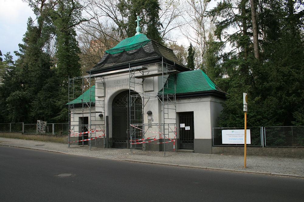 Nederlandse Oorlogsgraven Friedhof Hermsdorf I