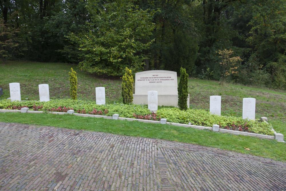 Oorlogsgraven van het Gemenebest & Monument Algemene Begraafplaats Heiderust Rheden