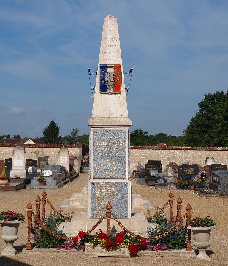 War Memorial Villemandeur