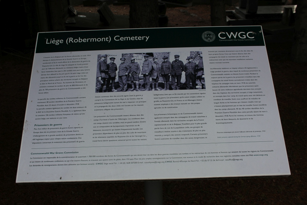 Commonwealth War Graves Liège (Robermont)