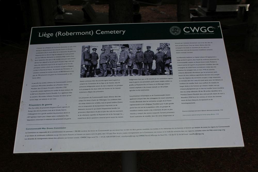 Oorlogsgraven van het Gemenebest Liège (Robermont)