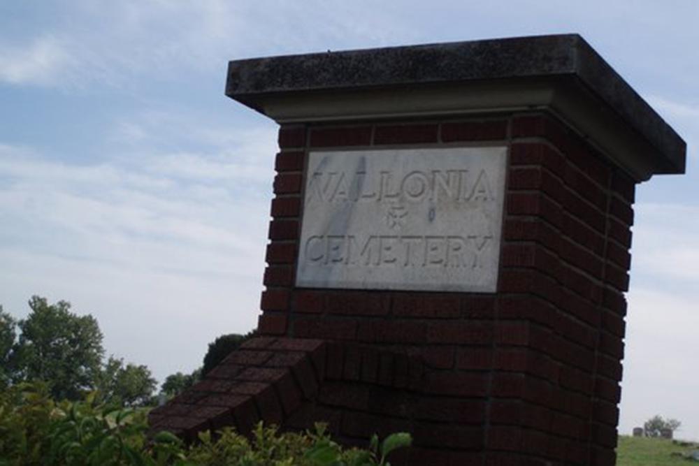 American War Graves Vallonia Cemetery