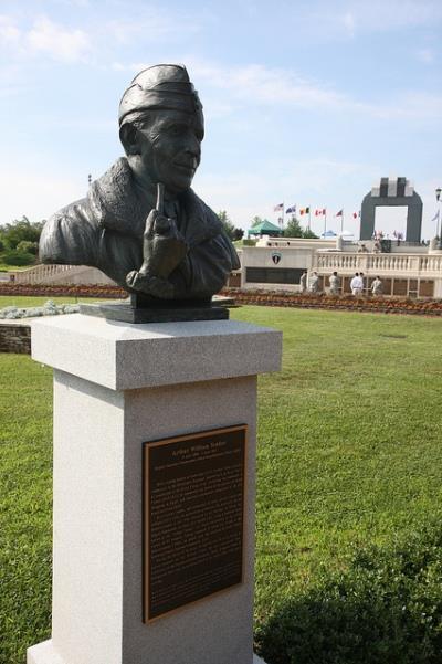 Arthur William Tedder Statue