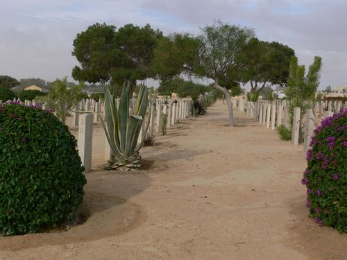 Commonwealth War Cemetery El Alamein