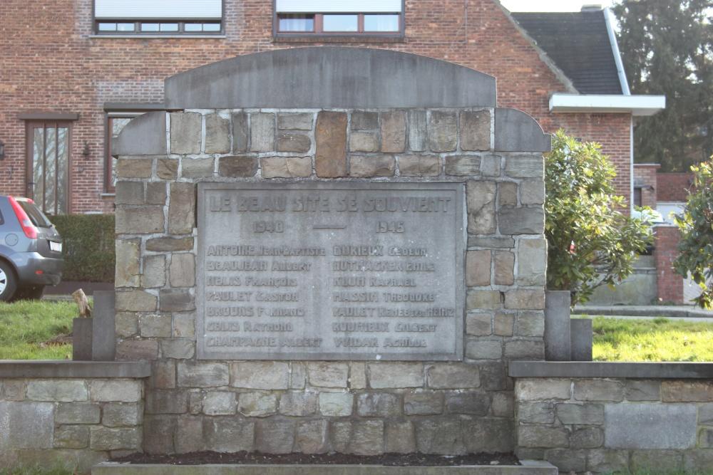 War Memorial 'Le Beau Site' Seraing